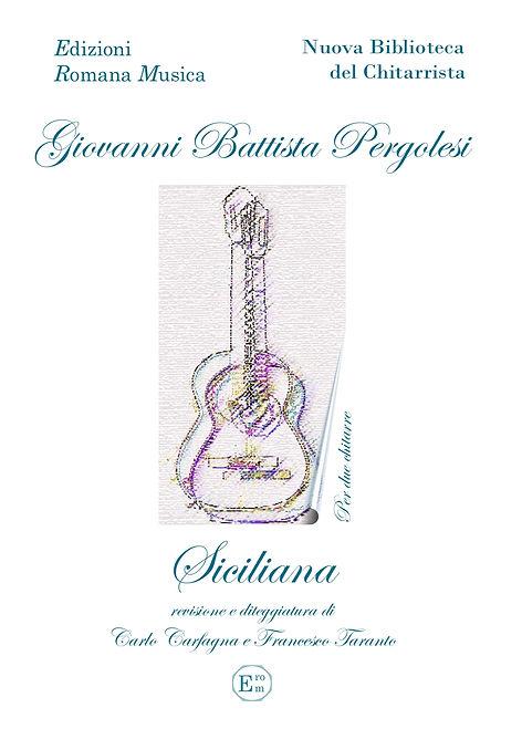 Erom 0040 Siciliana - Pergolesi