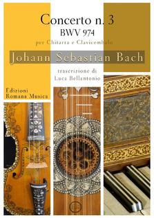 Erom 0214 Bach - Concerto n°3 per chitarra e clavicembalo