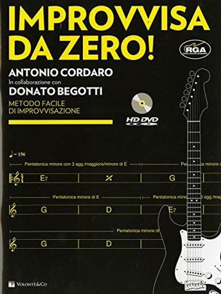 Improvvisa Da Zero! + Dvd (Chitarra)