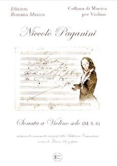 SONATA A VIOLINO SOLO - Niccolò Paganini
