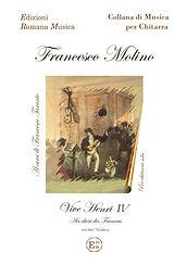 VIVE HENRI IV Air chéri des Francais avec huit variations