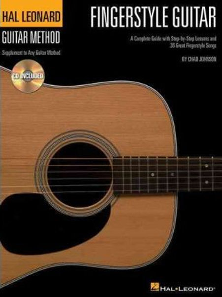 Hal Leonard Guitar Method: Fingerstyle Guitar [Lingua inglese]