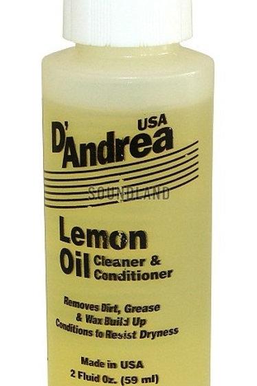 D'ANDREA PRO LEMON OIL CLEANER & CONDITIONER