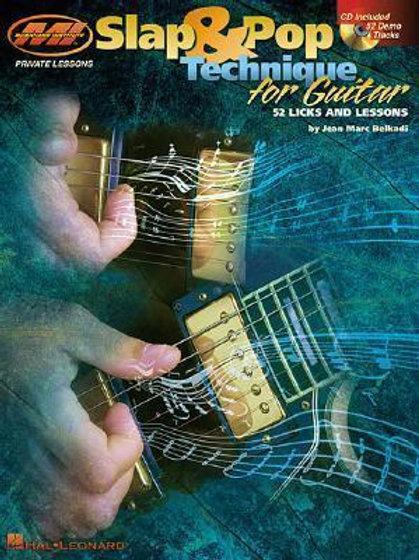 Slap & Pop Technique for Guitar