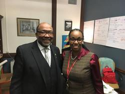 Dr. Trulear & Kimberleigh Jordan