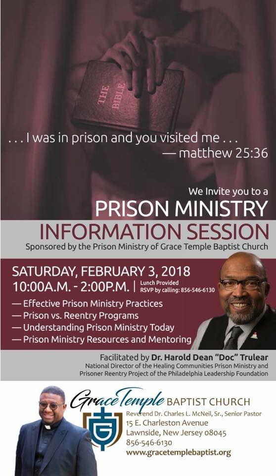 Prison Ministry Information Session
