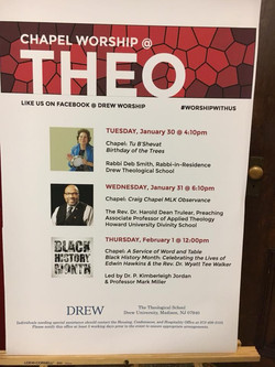 Dr. Trulear at Drew University