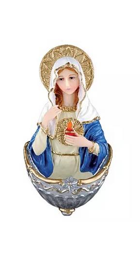 PIA DE ÁGUA BENTA CORAÇÃO DE MARIA