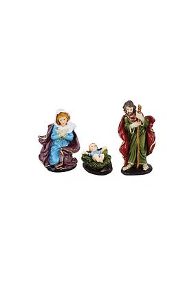 PRESÉPIO (3 PEÇAS SEPARADAS)JESUS, MARIA, JOSÉ
