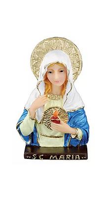 SAGRADO CORAÇÃO DE MARIA BUSTO DE MESA