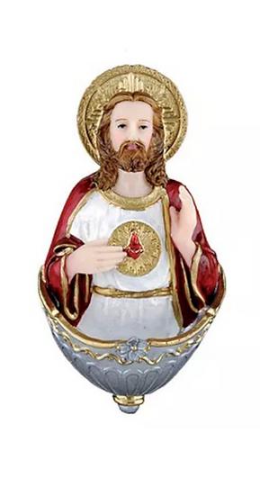 PIA DE ÁGUA BENTA CORAÇÃO DE JESUS