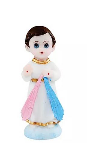 JESUS MISERICORDIOSO INFANTIL 8CM