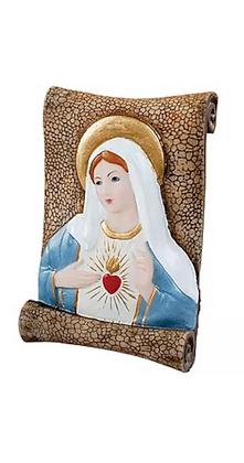 PERGAMINHO SAGRADO CORAÇÃO DE MARIA