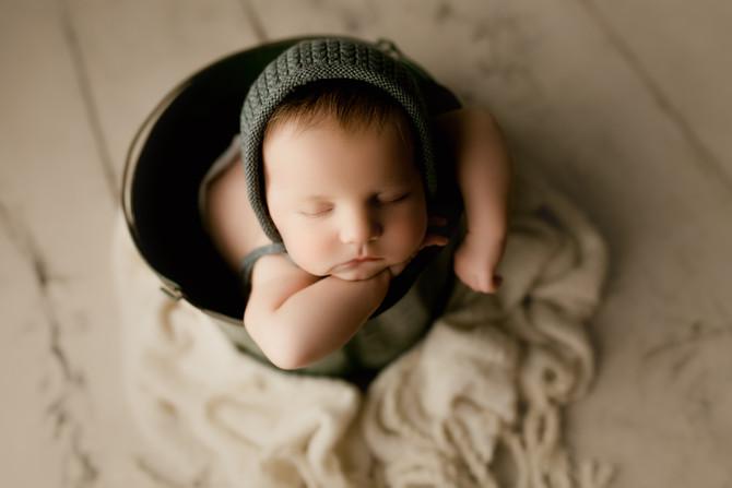 Suwanee Photographer Newborn Portraits: Welcome to the world, Callum!