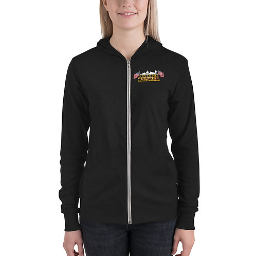 Finding Purpose Lady's zip hoodie