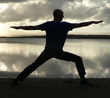 Warrior Pose - Dru Yoga