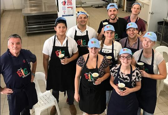 George and Our Dimmi baristas