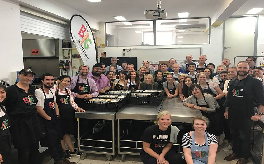 Australian Ethical cooking for the community