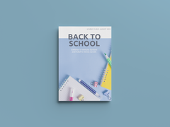 [August 2021 Newsletter] Back to School: Children's Immune System and Adult's Stress Level.