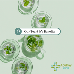 [AcuBlog] AcuBay Clinic's variety of tea: Drink for your health!