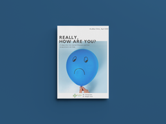 [Apr 2021 Newsletter] Depression & Anxiety: Really, How Are You?