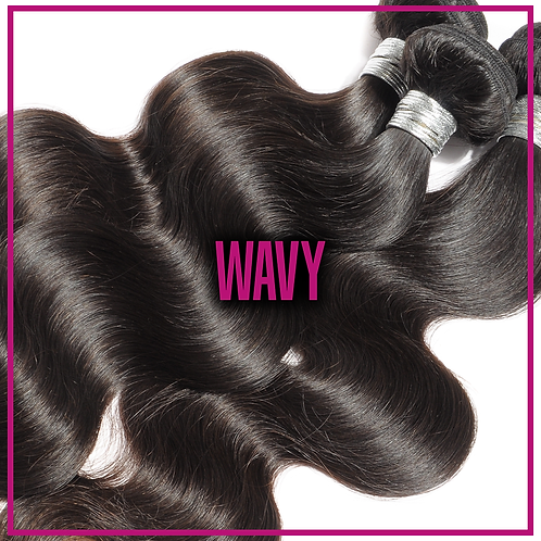 Single Drawn Bundles - Wavy