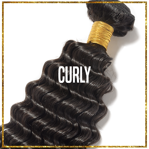 Double Drawn Bundles - Curly