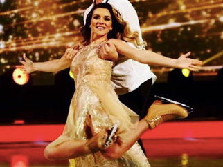 Candice Brown on Dancing On Ice