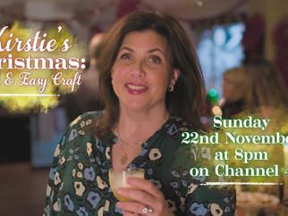 Nancy Birtwhistle Joins Kirstie Allsopp for Kirstie's Handmade Christmas