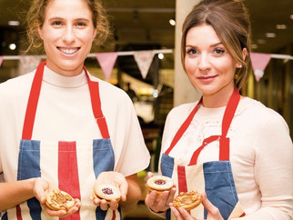 Candice and Jo Konta Bake Up A Storm