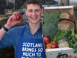 Peter Sawkins to front a new campaign for Scotland Food & Drink