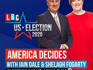 Shelagh Fogarty to anchor US Election Coverage for LBC