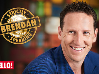 Brendan Cole launches new weekly Strictly column for HELLO! Magazine