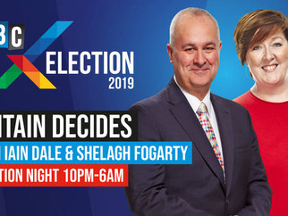 Shelagh Fogarty to host LBC's biggest election night show on air and in HD video