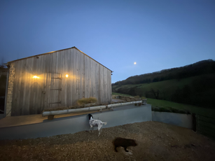 Holiday let in Slad Valley