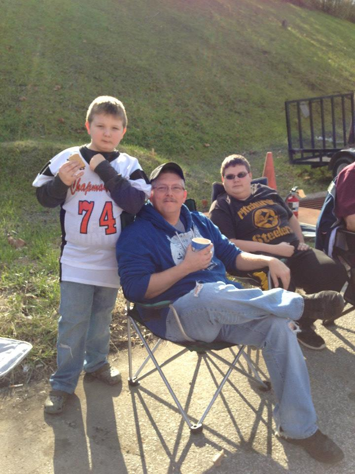 Tailgating at the Parade