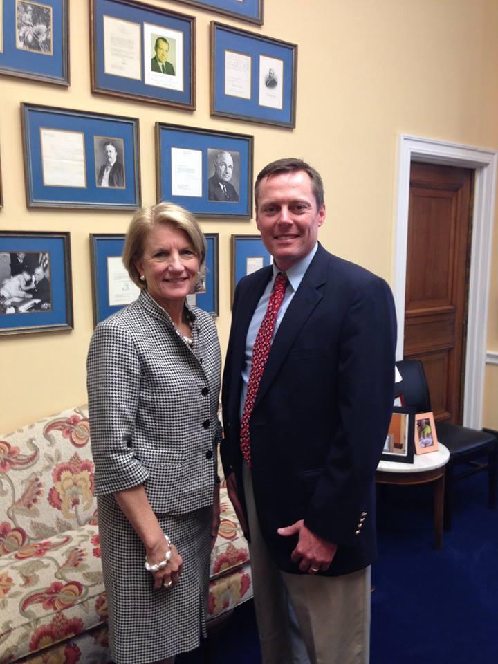 Pat & Senator Capito
