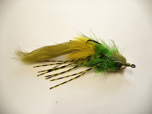 Alien Bass Bug -Green/Olive