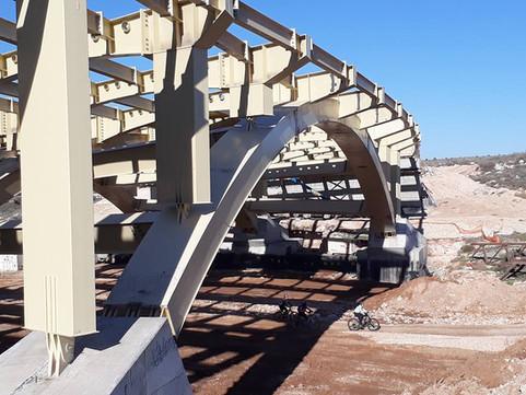 גשר פלדה ואדי ענבה מודיעין