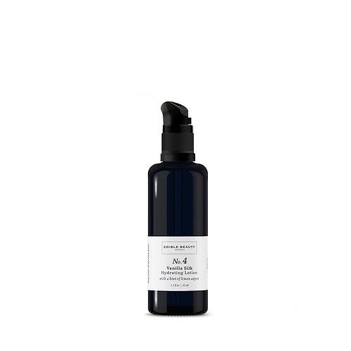 Edible Beauty No. 4 Vanilla Silk Hydrating Lotion