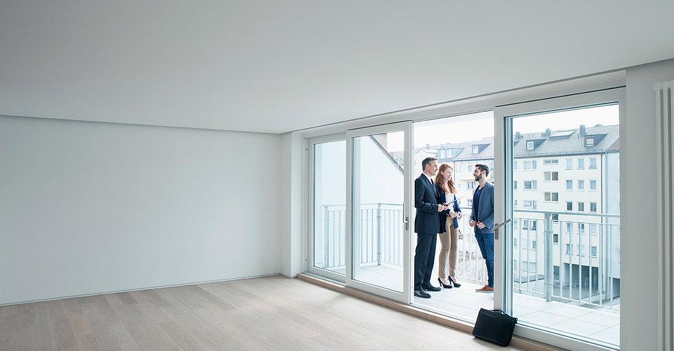 Mostrando un apartamento