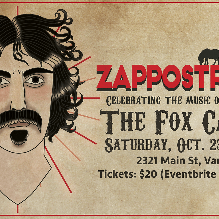 Zappostrophe' at The Fox