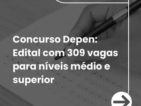 EXPECTATIVA NO CONCURSO DO DEPEN!!