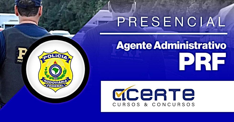CAPA - Agente Administrativo - PRF - Pre