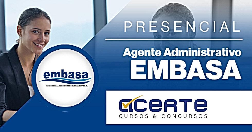 CAPA - EMBASA - Agente Administrativo -