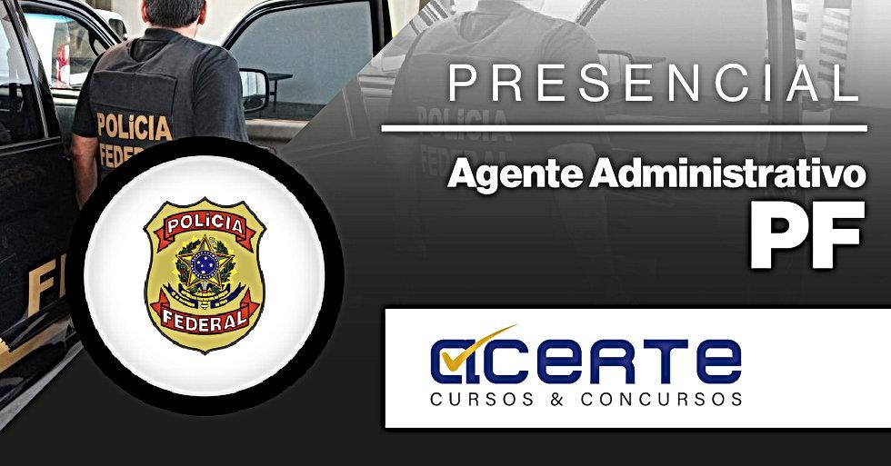 CAPA - Agente Administrativo - PF - Pres