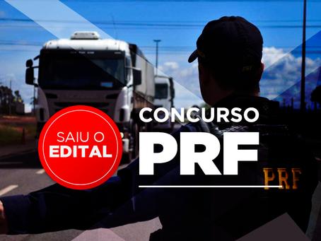 EDITAL LANÇADO PRF 2018: Com 500 vagas e salários de R$ 9 mil