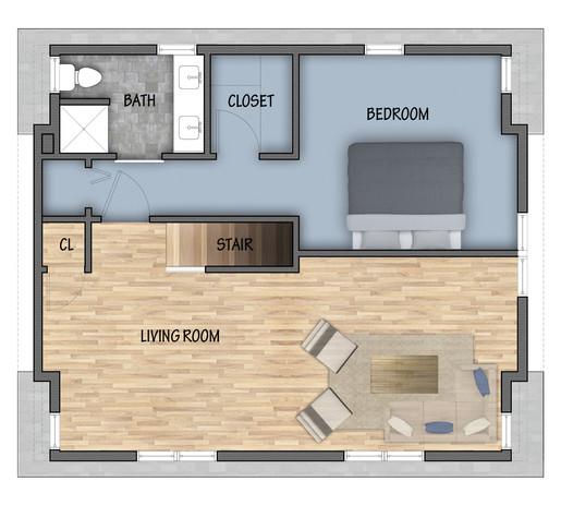 Rendered Floor Plans