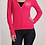 Thumbnail: Pink Monogram Zip-Up hoodie