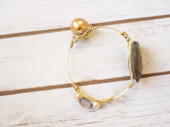 Eclectic Wire Bangle